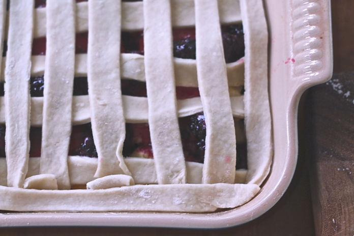 lattice on a cobbler